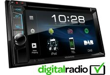 Kenwood DDX4018DAB Double Din Car Stereo USB AUX iPhone Android Inc DAB Aerial