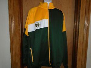 Portland Timbers MLS Soccer Majestic Big & Tall Full Zip Jacket 3XL 3XLT 5XL NWT