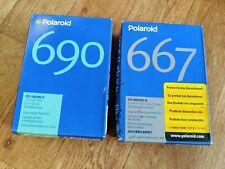 Polaroid 690 667 Peel Apart Film - 2 X Twinpacks (40 Photos)