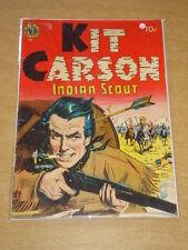 KIT CARSON #1 VG (4.0) AVON COMICS 1950