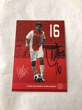 Spelerskaart Topspieler Handsigniert Ajax Luis Suarez