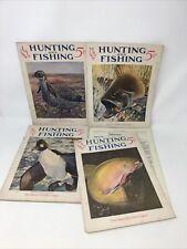 Hunting and Fishing Magazine Vintage 1926-1927  LOT OF 4 MAGAZINES