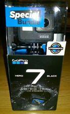 GoPro Hero 7 Black -4K 12MP Ultra HD HDR HyperSmooth Live Stream Camera Bundle