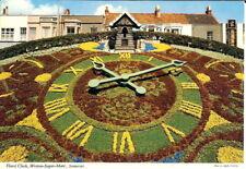 Somerset: Floral Clock, Weston-Super-Mare - Unposted c. 1973