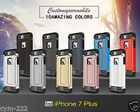 Coque Type SPIGEN Double Armure Hybride  Silicone iPhone 7 & 7+ Etui Protection