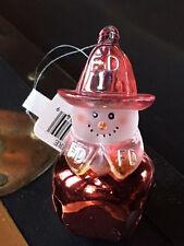 Jingle Buddies  -- Fire Fighter Fireman Christmas Tree Ornament / figure NEW