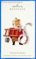 Honey-Do Santa Handyman Ladder & List Hallmark Keepsake Christmas Ornament 2008