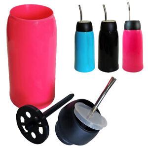 1 x Matelisto Portable Mate Termo Bottle With Straw Bombilla Thermo Autocebante