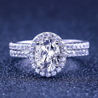 STERLING SILVER 1//2 Carat Engagement Ring Set Plus Size 9 10 11 12 13 R T V X Z