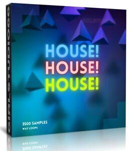 House House House! WAV Loops FL Studio Logic Pro Cubase Reason Ableton Samples