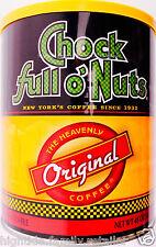 Chock full o'Nuts Ground Coffee Original Heavenly Medium Roast New York 48oz.