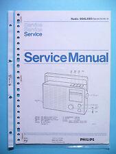 Service Manual-Anleitung für Philips 90 AL 680  ,ORIGINAL