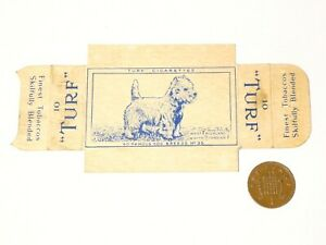 Carreras Turf Card Famous Dog Breeds No. 35 West Highland White Terrier w/ Tabs