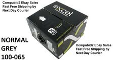 NEW 305m BOX REEL EXCEL CAT5e PURE SOLID COPPER 4 PAIR UTP PVC Cable GREY 24awg