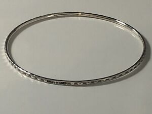 STERLING SILVER BANGLE LOT 15