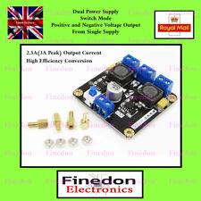 Carril de doble 5V fuente de alimentación desde una sola fuente positiva conmutación 2.5A vendedor del Reino Unido