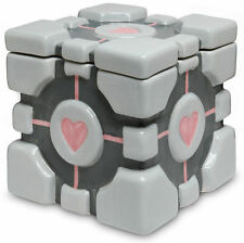 Portal 2-COMPANION CUBE Cookie Jar-CERAMICA-Portal Cookie cubo