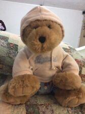 "Large 15"" Sitting Grizzly Bear Plush Teddy Aeropostale Hoodie Monkey PJ bottoms"