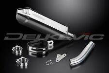 "Delkevic 13"" Stainless Tri-Oval Muffler - Triumph Sprint RS 955i - 2004 Exhaust"