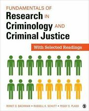 Fundamentals of Research in Criminology and Criminal Justice : With Selected...
