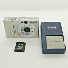 Canon PowerShot Digital ELPH SD1000 7.1MP Digital Camera - Silver -USED