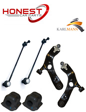 For TOYOTA AURIS 06-2015 FRONT WISHBONE TRACK CONTROL ARMS, LINK BARS & D BUSHES