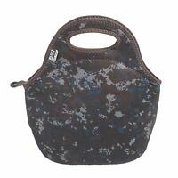 Built NY Gourmet Getaway Neoprene Lunch Tote - Reusable Insulated, Tweed Camo