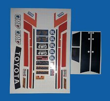 MOUNTAINEER PLUS CHROME PANELS TAMIYA HPI LOSI RC 1/10th  EXTRA DECALS STICKERS