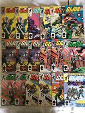GI JOE MARVEL COMIC LOT SECOND PRINTS (18 books) plus Yearbooks and Transformers