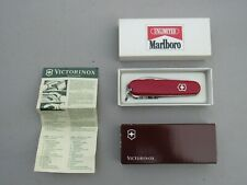 "*NEW IN BOX* Marlboro Unlimited ""Trail Guide"" Victorinox Swiss Army Knife, Nice"