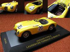 1/43 Jaguar Type C  Laurent/De Tornaco Le Mans 53 diecast