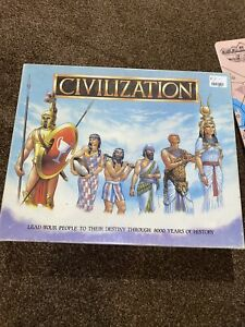 VINTAGE 1990 CIVILIZATION BOARD GAME BY GIBSONS GAMES 8000 YEARS OF HISTORY