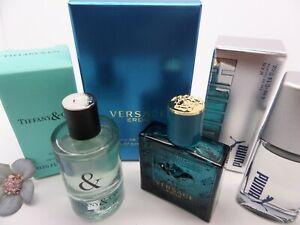 TIFFANY & LOVE ~VERSACE ~PUMA MEN edt MINI Miniature PERFUME Fragrance SET