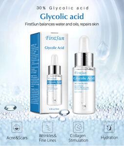 Glycolic Acid Skin Peel 30%  15ml  Collagen First Sun