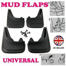 Front/Rear Rubber Moulded MUDFLAPS 4x Mud Flaps Universal Fit For MERCEDES C-180