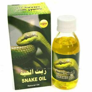 Snake Oil Natural Hair Treatment Chemicals free 125ml Original UK Seller
