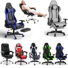 Gaming Racing Stuhl Chefsessel Sportsitz Drehstuhl Bürostuhl Massage Stoffbezug