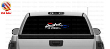 The Heartbeat of America Chevy Decal Sticker Red, White,and Blue CHEVROLET