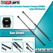 2x 500MM 330N Gas Struts for Caravans Camper Trailers Canopy Toolboxes Cabinets