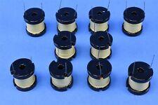 10 Vitec 1.8mH Bobbin RF Choke Coil Inductors P/N: 51P5355