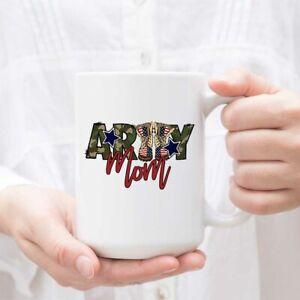 Coffee Mug For Army Mom Gift For Army Mother Military Coffee Cup Mug