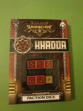 Khador Dice Set