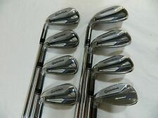 New LH Taylormade Speed Blade Irons 4-AW Speedblade Iron set Regular Flex Steel