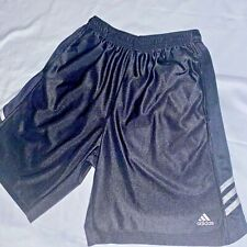 Rare Vintage Adidas Basic Vintage Basketball Shorts Black Small
