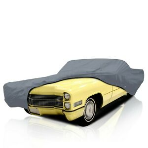 [CSC] 4 Layer Semi Custom Full Car Cover for Cadillac Coupe DeVille 1969-1970