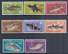 1968 Thailand SC 501-508 | MI 517-524 - 2nd Series of Fish - VF/XF Fresh MNH*