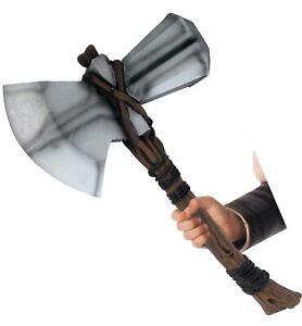 Thor Marvel Avengers Endgame Superhero Weapon Mens Boys Stormbreaker Hammer