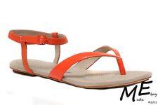 New Tsubo BELLAH Leather Women Sandals Size 7 Terracotta