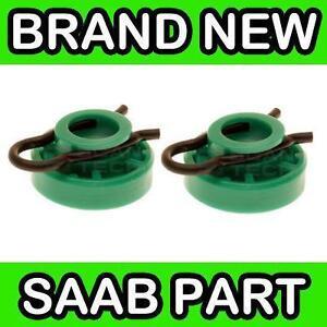 SAAB NG 900 / 9-3 / 9-5 GREEN WINDOW REGULATOR ROLLERS (PAIR) 4493433