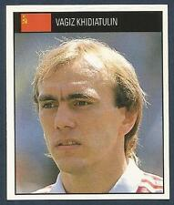 ORBIS 1990 WORLD CUP COLLECTION-#214-RUSSIA-VAGIZ KHIDIATULIN